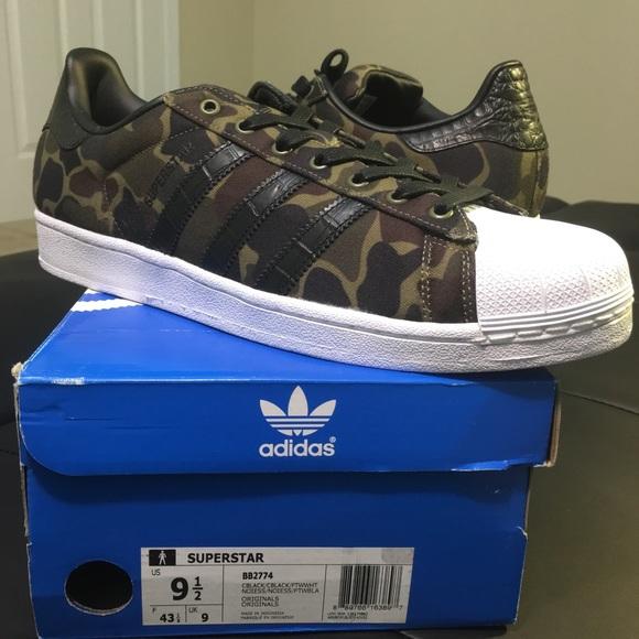 5ac39875bf033 adidas Shoes | Superstar Olive Camouflage Bb2774 Shell Toe | Poshmark